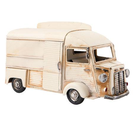 Model auto 29*16*16 cm Creme | 6Y2453 | Clayre & Eef