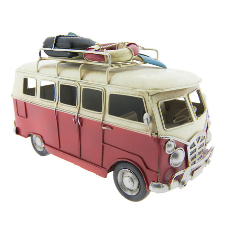 Model bus 25*12*16 cm Meerkleurig | 6Y2714 | Clayre & Eef