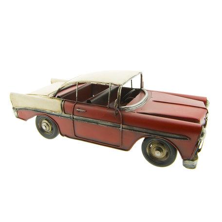 Model auto 29*11*10 cm Rood | 6Y2718 | Clayre & Eef