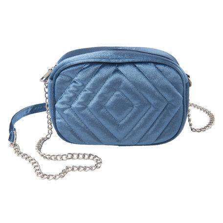 Tas 20*7*15 cm Blauw | JZBG0158BL | Clayre & Eef