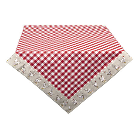Tafelkleed 130*180 cm Rood | LCH03R | Clayre & Eef