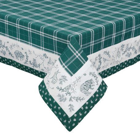 Tafelkleed 150*150 cm Groen   WF15   Clayre & Eef