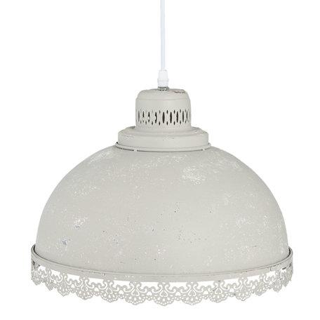 Hanglamp ø 34*25 cm / E27/max 1*60W Grijs | 6LMP550G | Clayre & Eef