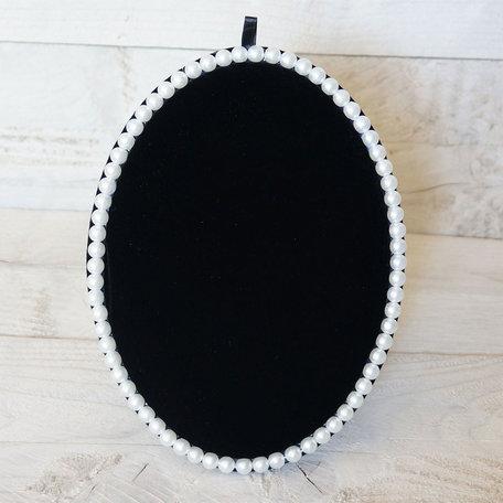 Sieraden display 25*18.5 cm Zwart | MLDS0008 | Clayre & Eef