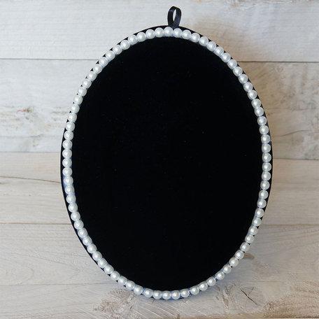 Sieraden display 28.5*22 cm Zwart | MLDS0010 | Clayre & Eef