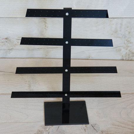 Sieraden display 30*35 cm Zwart | MLDS0029 | Clayre & Eef