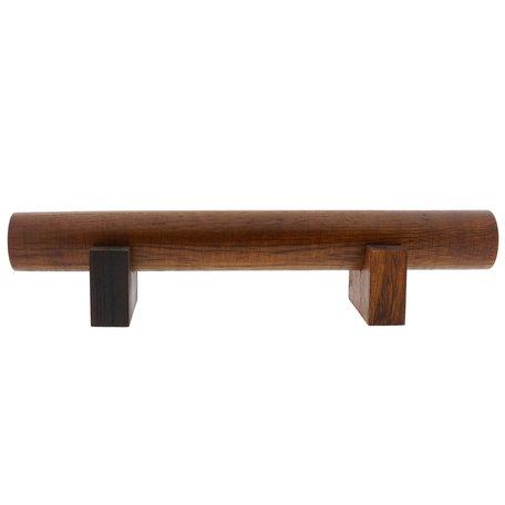 Sieraden display ø5*38*8 cm Bruin | MLDS0034 | Clayre & Eef