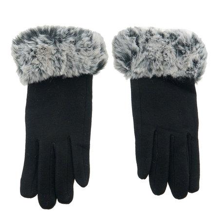 Handschoenen 25*8 cm Zwart | MLGL0007D | Clayre & Eef