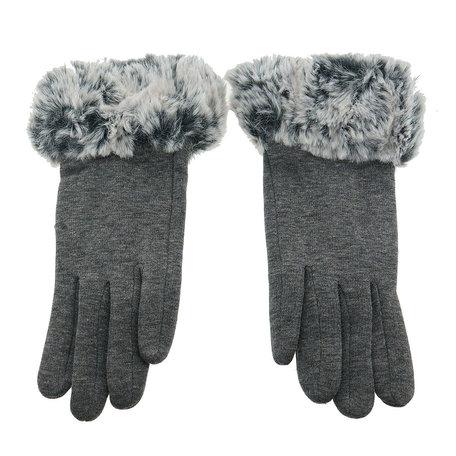 Handschoenen 25*8 cm Grijs | MLGL0007S | Clayre & Eef