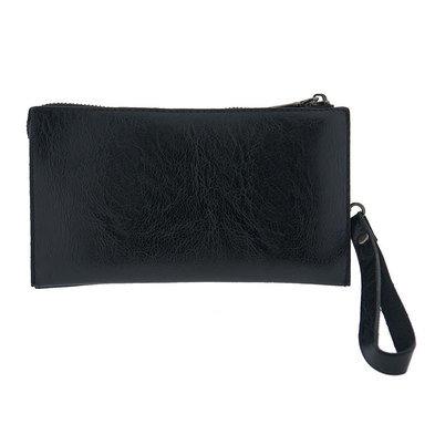Portemonnee 22*12 cm Zwart | MLPU0130 | Clayre & Eef