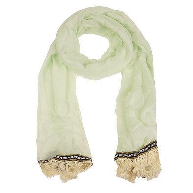 Sjaal 70*180 cm Blauw | MLSC0202BL | Clayre & Eef