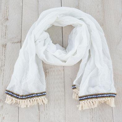 Sjaal 70*180 cm Beige   MLSC0202N   Clayre & Eef
