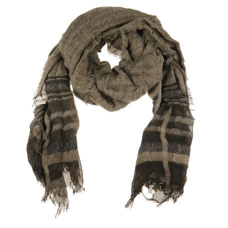 Sjaal 80*180 cm Zwart   MLSC0247D   Clayre & Eef