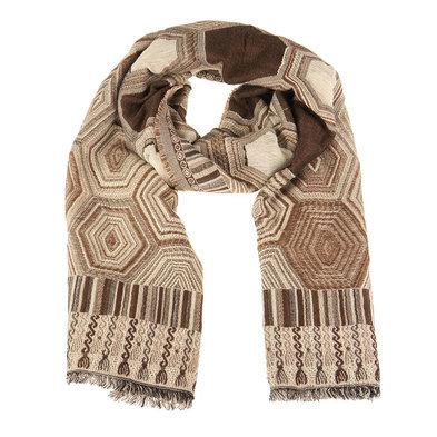 Sjaal 60*190 cm Bruin | MLSC0248CH | Clayre & Eef
