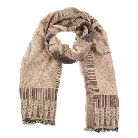Sjaal 60*190 cm Roze | MLSC0248P | Clayre & Eef