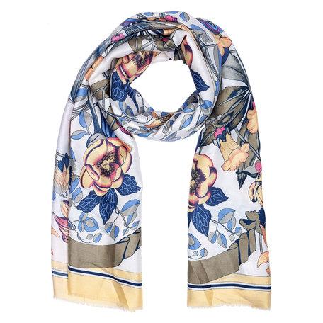 Sjaal 88*180 cm Geel | JZSC0420Y | Clayre & Eef