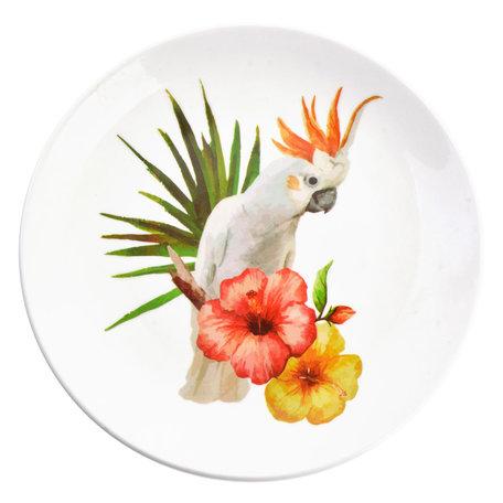 Decoratie bord ø 20*2 cm Meerkleurig | 6CE0963 | Clayre & Eef