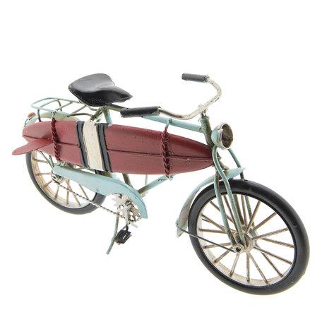 Model fiets 29*9*15 cm Rood   JJFI0004   Clayre & Eef