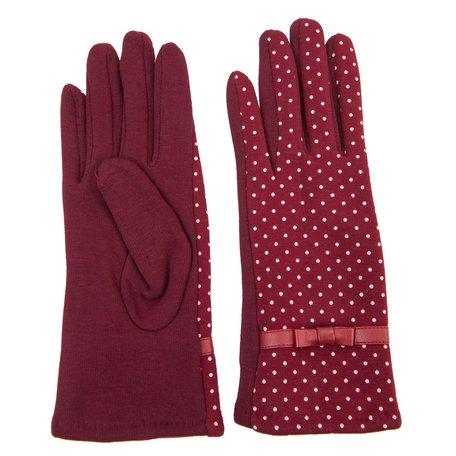 Handschoenen  Rood | JZGL0001BU | Clayre & Eef
