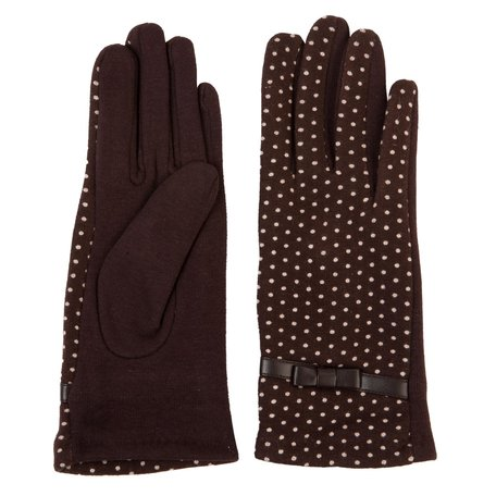 Handschoenen  Bruin | JZGL0001CH | Clayre & Eef