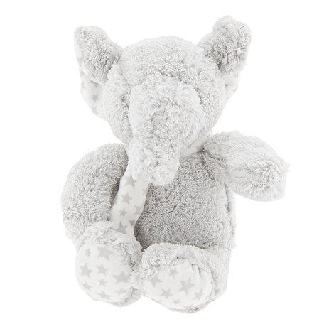 Decoratie knuffel olifant 15*10*15 cm Grijs | TW0488 | Clayre & Eef