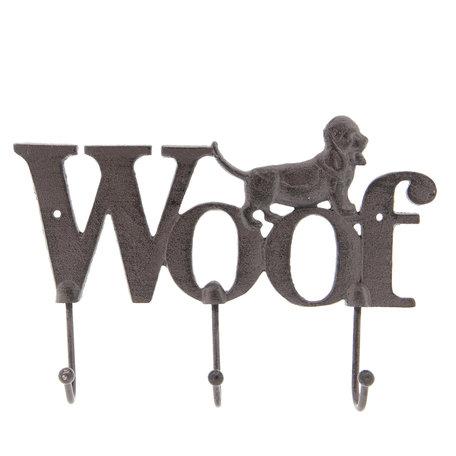 Kapstok hond 26*4*18 cm Bruin | 6Y3206 | Clayre & Eef