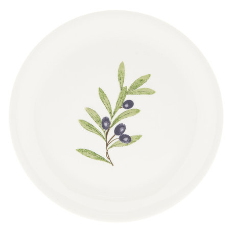 Groot bord ø 28 cm Blauw | OLGFP | Clayre & Eef