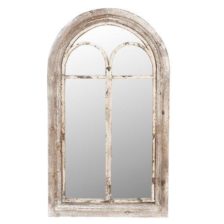 Spiegel 55*5*95 cm Grijs   52S096   Clayre & Eef