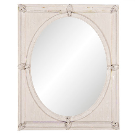 Spiegel 50*60*5 cm Beige   52S144   Clayre & Eef