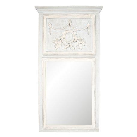 Spiegel 65*120*5 cm Grijs   52S145   Clayre & Eef