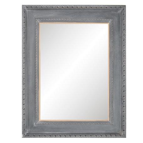Spiegel 75*4*95 cm Grijs   52S147   Clayre & Eef