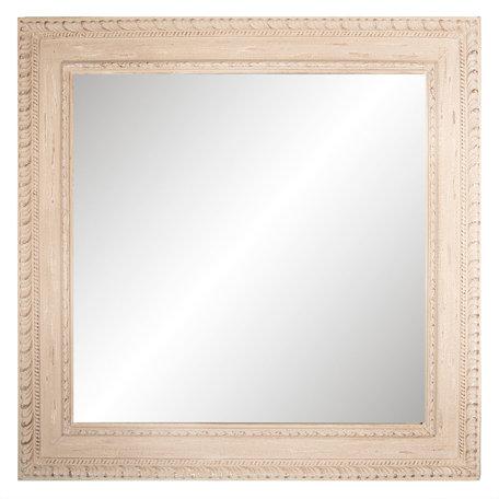 Spiegel 100*100*4 cm Bruin   52S151   Clayre & Eef