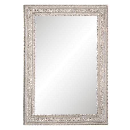 Spiegel 97*67*3 cm Grijs   52S153   Clayre & Eef