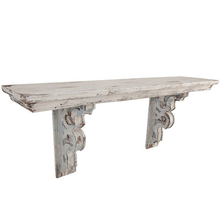 Wandrek 100*23*41 cm Distressed wit | 5H0232 | Clayre & Eef