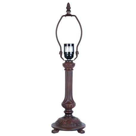 Lampenvoet ø 16*47 cm E27/max 1*60W Bruin | 5LL-5794 | Clayre & Eef