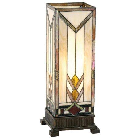 Tafellamp Tiffany 18*18*45 cm E27/max 1*60W Multi | 5LL-9227 | Clayre & Eef