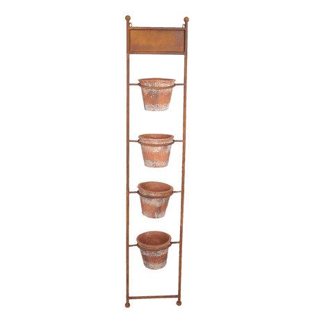 Planthouder 34*20*168 cm Bruin | 5Y0467 | Clayre & Eef