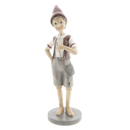 Decoratie figuur Pinokkio 11*9*30 cm Multi | 6PR2418 | Clayre & Eef