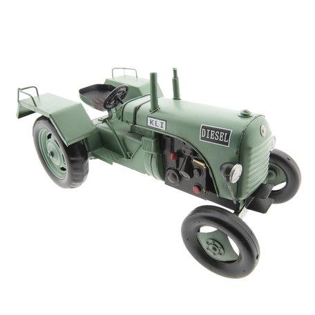 KLI tractor model licentie 33*14*17 cm Groen | 6Y2989 | Clayre & Eef