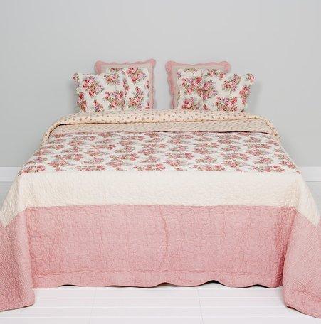 Bedsprei 260*260 cm Rood | Q118.062 | Clayre & Eef