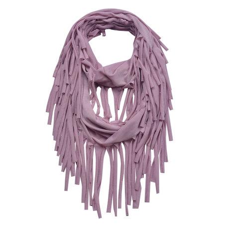 Sjaal 40*150 cm Roze | JZSC0391P | Clayre & Eef