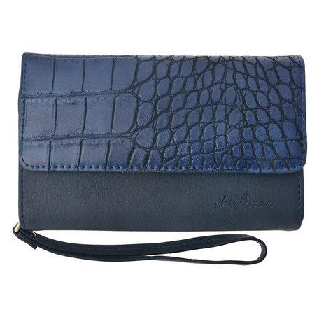 Portemonnee 17*10 cm Blauw | JZWA0048BL | Clayre & Eef