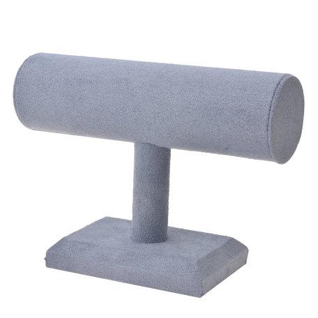 Sieraden display 24*19 cm Grijs | MLDS0043 | Clayre & Eef