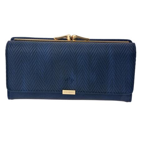 Portemonnee 19*10 cm Blauw | MLPU0197BL | Clayre & Eef