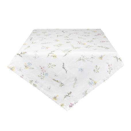 Tafelkleed 100*100 cm Wit | HFL01 | Clayre & Eef