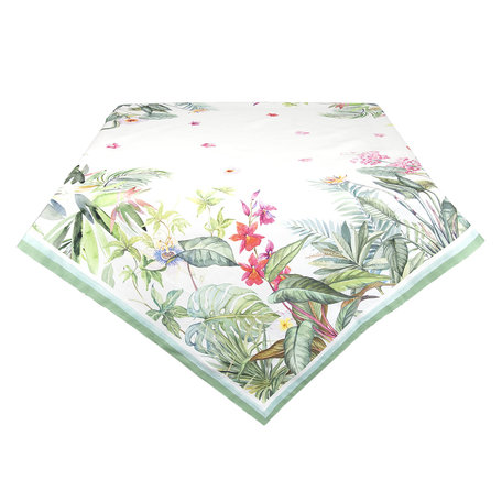Tafelkleed 100*100 cm Meerkleurig | JUB01 | Clayre & Eef