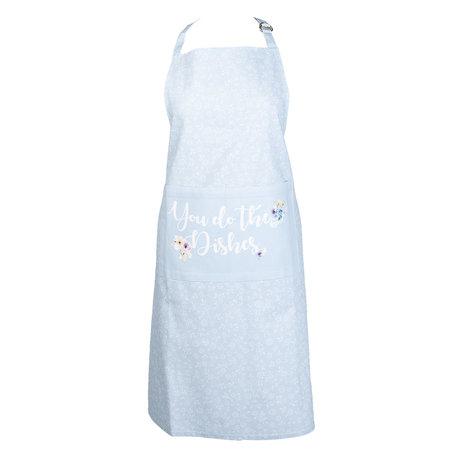 Keukenschort 70*85 cm Blauw | YDD41BL | Clayre & Eef