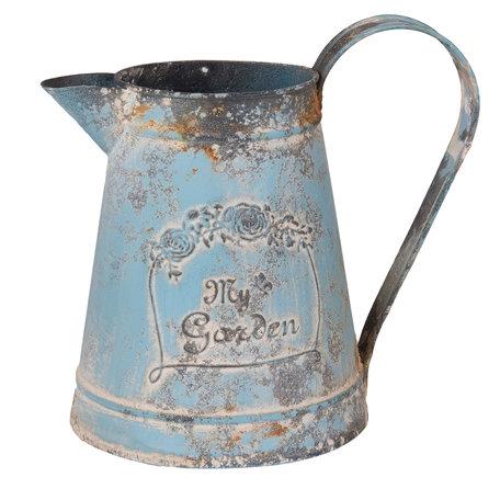 Decoratie kan 23*15*21 cm / 2000 ml Blauw | 6Y2564 | Clayre & Eef