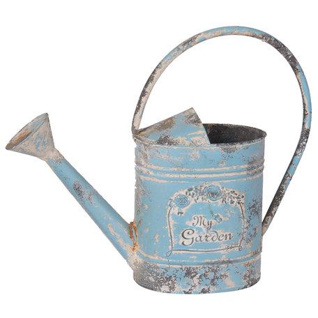 Decoratie gieter 37*11*31 cm / 2250 ml Blauw | 6Y2565 | Clayre & Eef