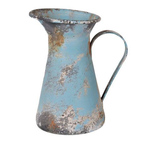 Decoratie kan 17*12*19 cm / 1L Blauw | 6Y2566 | Clayre & Eef
